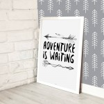 Plakat Adventure is waiting