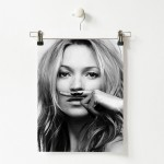 Plakat Kate Moss Life is a joke