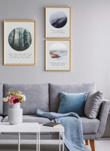 Perfekcyjne Trio Scandinavian shore + Scandinavian forest + Scandinavian mountains