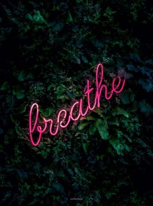 Plakat Breathe
