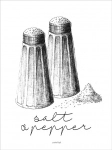 Plakat Salt & Pepper