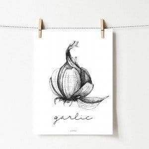 Plakat Garlic