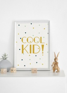 Plakat Cool Kid