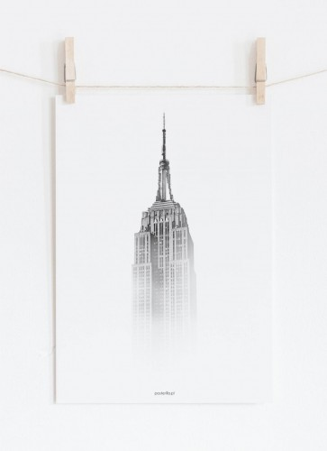 Plakat Empire State Building